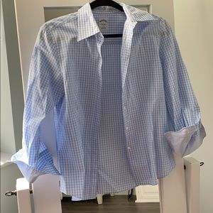 Brooks brothers fitted button down